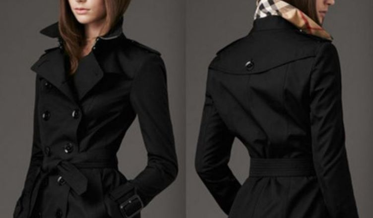 how to style a black trench coat